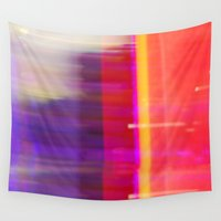 the lights Wall Tapestries featuring Lights by Matata