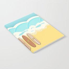 Aloha Surf Wave Beach Notebook