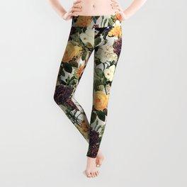 Floral E Leggings