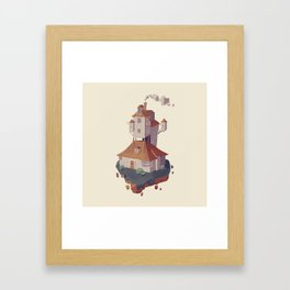 The burrow HP Framed Art Print
