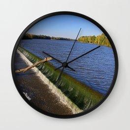 Providence Dam II Wall Clock