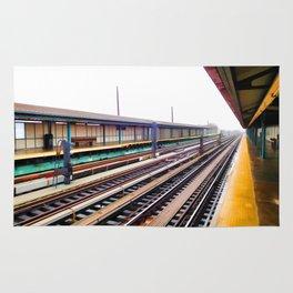 A platform view Rug