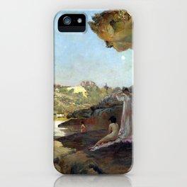 Julian Ashton Tamarama Beach, forty years ago, a summer morning iPhone Case