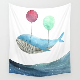 Just be happy Wall Tapestry