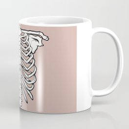rib illustration tattoo design Coffee Mug