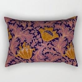 """William Morris """"Anemone"""" 4. Rectangular Pillow"""