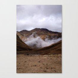 Peru: Mountain Clouds Canvas Print