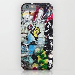 Graffiti wall 8 iPhone Case