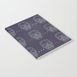 Skulls Notebook