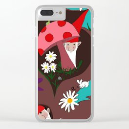 Stargazing , It's Been Gnome to Happen Clear iPhone Case