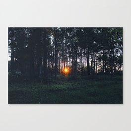 Glimmer of Hope #Sunset Canvas Print
