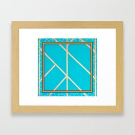 Leaf - web graphic Framed Art Print