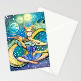 Infinity Dragon Queen Stationery Cards