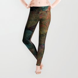 Triangle chaos Autumn Leggings