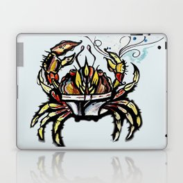 BEWARE :crabs in underwear  Laptop & iPad Skin