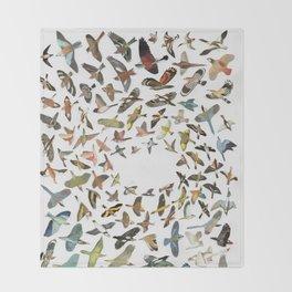 Bird, Birds, Birds Throw Blanket