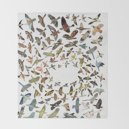 Bird, Birds, Birds Throw Blanket