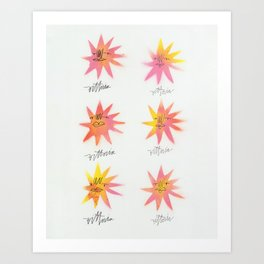 I Am The Bright Future Art Print