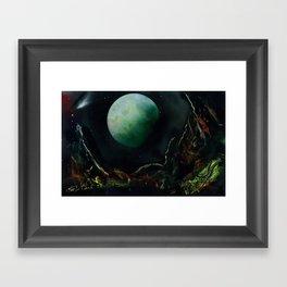 The Lunar Garden Framed Art Print