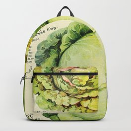 Vintage Vegetable Advertisement (1907) Backpack