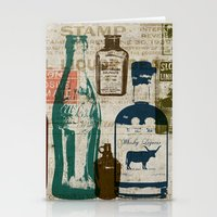 medicine Stationery Cards featuring Dirty Medicine by Tim Schmidt X Design