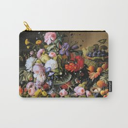 Vintage Varnish- Flowers&Fruit Carry-All Pouch