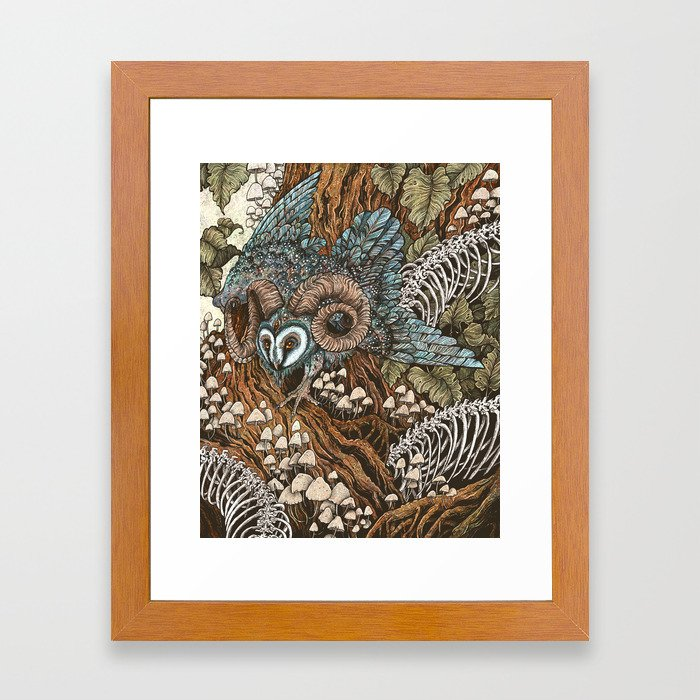 Bone Picker Framed Art Print