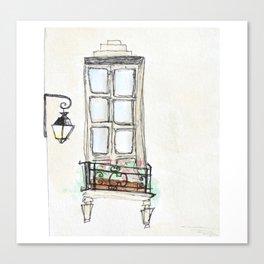 4e Arrondissement, Paris Canvas Print