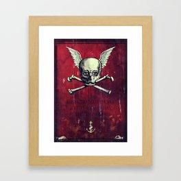 The Supernatural Pirate Framed Art Print