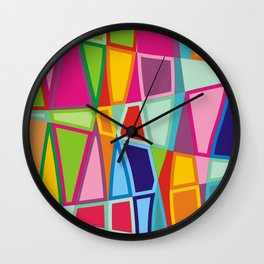 Color fantazy no.8 Wall Clock