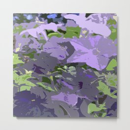 Floral abstractions I Metal Print