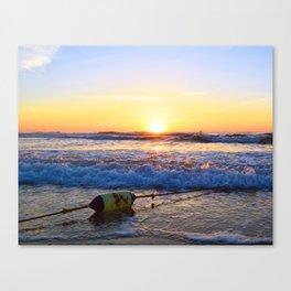 Buoy Sunrise Canvas Print