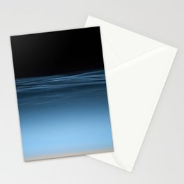 twilight shine on the horizon | space #17 Stationery Cards