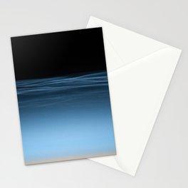 twilight shine on the horizon   space 017 Stationery Cards