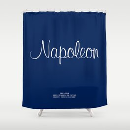 Howlin' Mad Murdock's 'Napoleon' shirt Shower Curtain