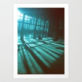 bluespace Art Print
