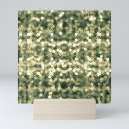 Abstract circle #8 Mini Art Print