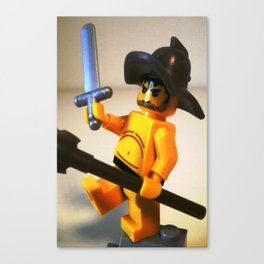 SPARTACUS THE GLADIATOR CUSTOM LEGO MINIFIG by Chillee Wilson Canvas Print