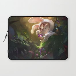 Cottontail Teemo League Of Legends Laptop Sleeve