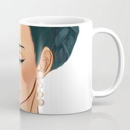 Frida Khalo Illustration by Patricia Falls Coffee Mug