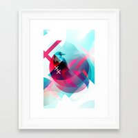 the xx Framed Art Prints featuring XX by NewFoundBrand