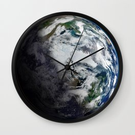 Mosaic of the Arctic Wall Clock