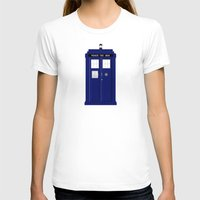 tardis T-shirts featuring TARDIS by fairandbright