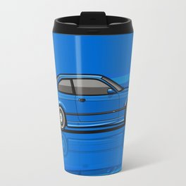 Bavarian 3 Series E36 M-Drei Coupe Estoril Blue Stripes Travel Mug