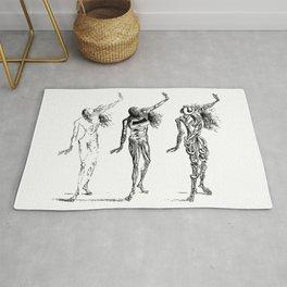 Salvador Dali Sketches - Trois sécheresses Rug