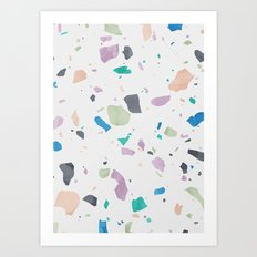 Terrazzo 2 Art Print