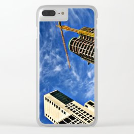 Diving into the BLUE BERLIN SOUND Clear iPhone Case