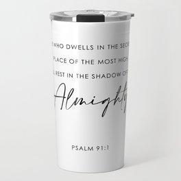 Psalm Travel Mug