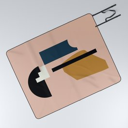 Shape study #2 - Lola Collection Picnic Blanket