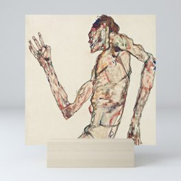 """Egon Schiele """"The Dancer"""" Mini Art Print"""